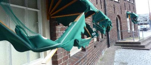zonwering reparatie in West-Vlaanderen
